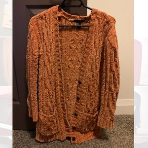 Fall coloured forever 21 cardigan;great condition